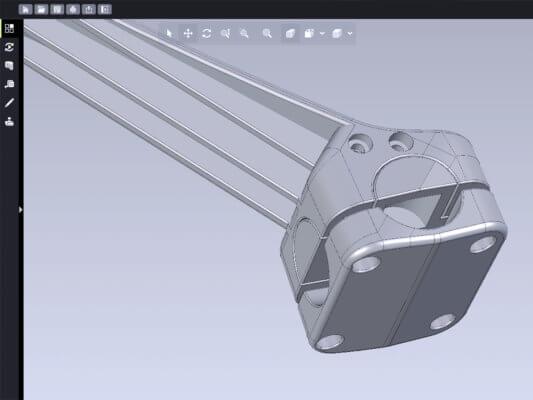 CAD-Datei zum Handschuhentferner