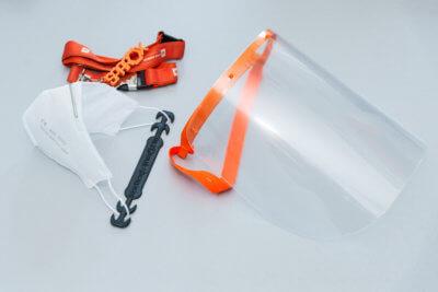 3D-gedruckte Schutzausrüstung