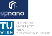 UpNano und TU Wien Logo
