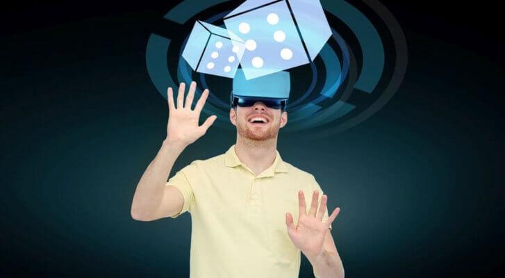 Virtual Reality 3D-Spiel