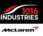 McLaren und 1016 Industries Logo
