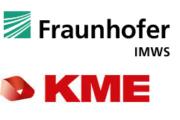 Logo Fraunhofer IMWS und KME