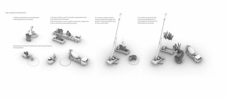 NYXO 3D-gedruckter Turm