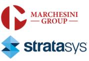 Logos der Marchesini Group und von Stratasys