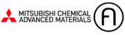 Logos von Mitsubishi Chemical Advanced Materials und AddiFab