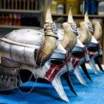 Nord Helme für Kostüm für Bethesda