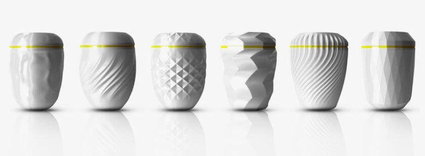 Urnen aus dem 3D-Drucker