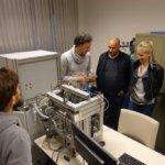 3D-Drucker und Mitarbeiter von ValCUN