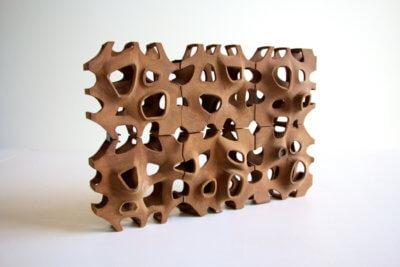 3D-gedrucktes Objekt Poroso
