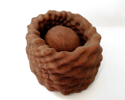 3D-gedrucktes Wurzelholz