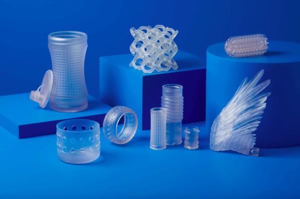 3D-gedruckte Objekte aus Flexible 80A Resin
