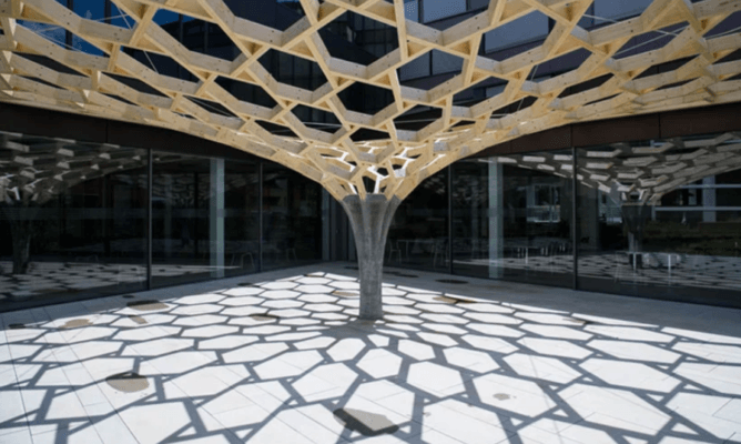Weitere Ansicht Future Tree Pavillion