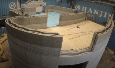 3D-Druck des Hauses