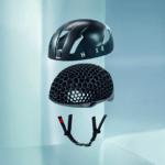 HEXR 3D-gedruckte Helminnenstruktur Detailansicht