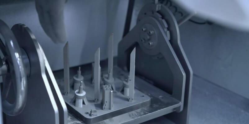 Pulverentfernung nach 3D-Druck
