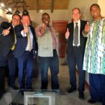 Eröffnung Maun Science-Park 2019