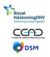 Logo Royal HaskoningDHV, CEAD und DSM
