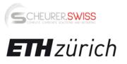 ETH Zürich und Scheurer Swiss GmbH Logo