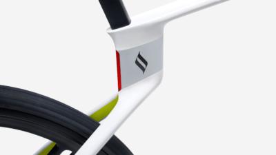Superstrata Unibody-Fahrradrahmen Teilansicht