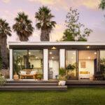 Haus mit 3D-gedruckten Teilen
