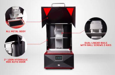 Details zum 3D-Drucker PrintHero