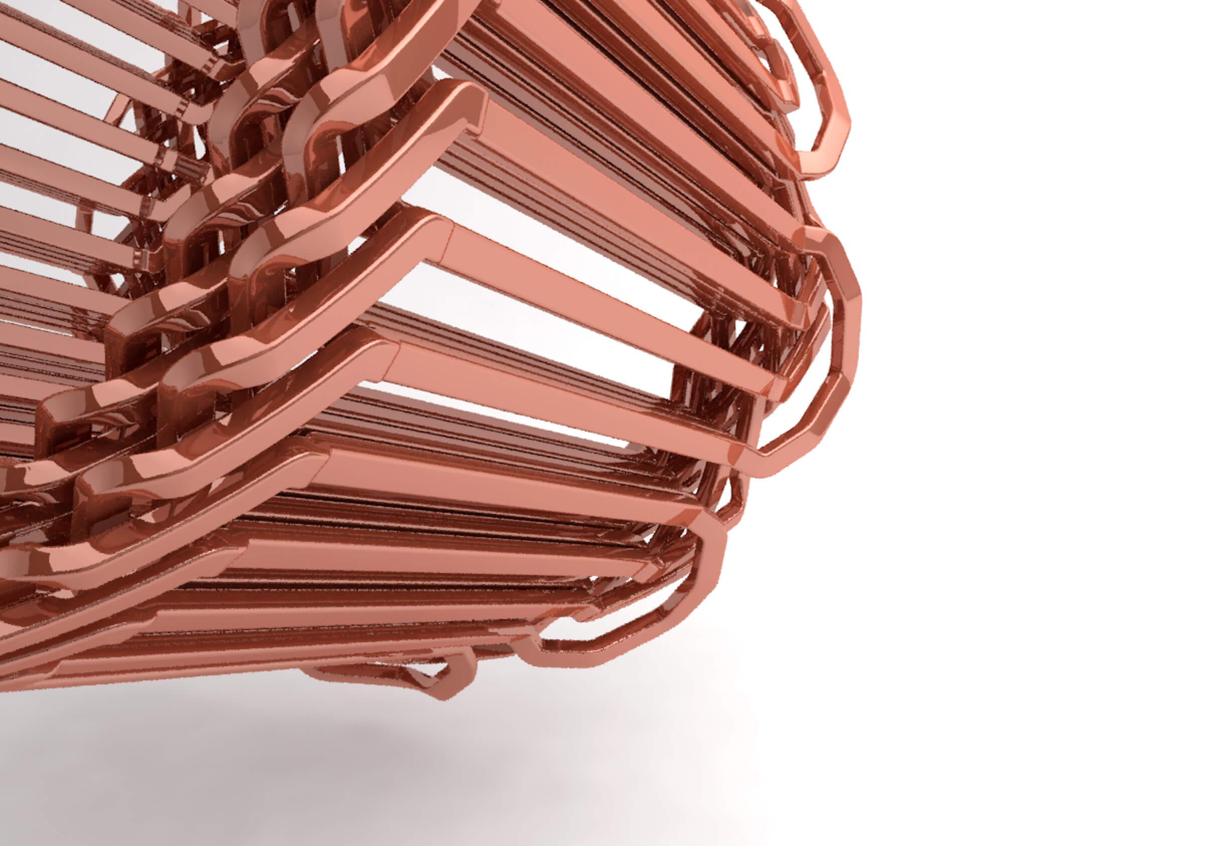 3D-gedruckte Einzelspule