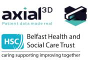 Axial3D und Belfast HSC-Trust Logos