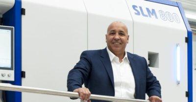 CEO von SLM Solutions, M. Hadjar