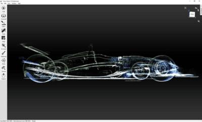 Artec Leo Rendering Dallara F399/01
