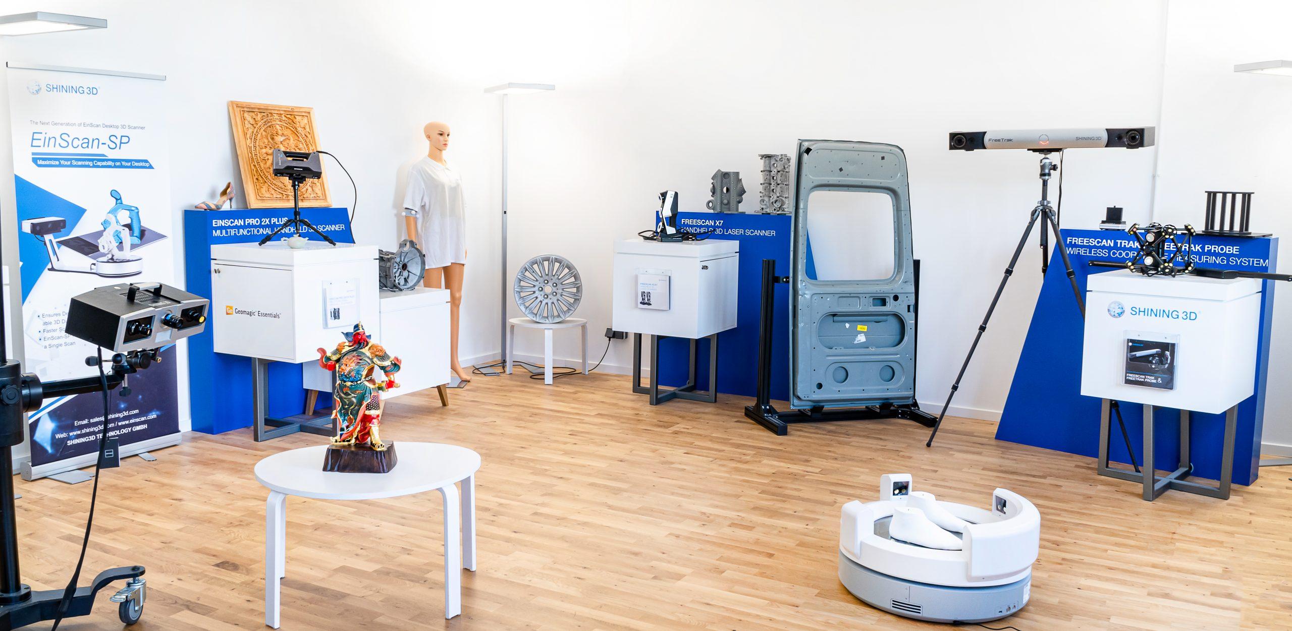 SHINING 3D Büro Innenansicht