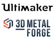 Ultimaker und 3D Metalforge Logos