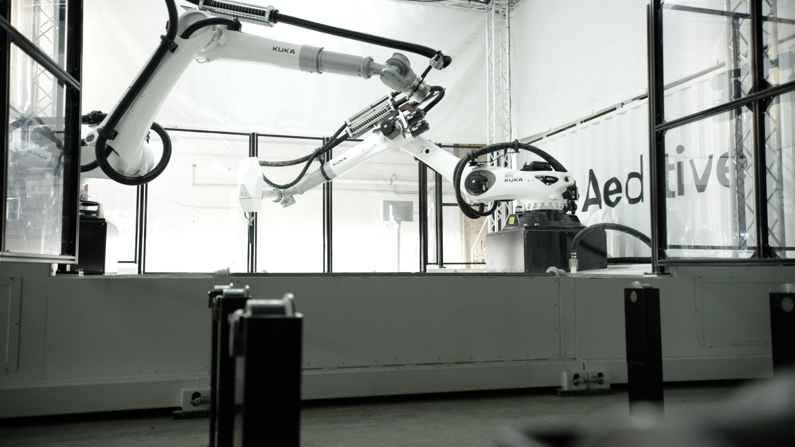 Roboterarm Concrete Aeditor