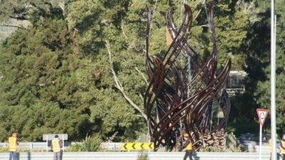 Skulptur NZ Installation