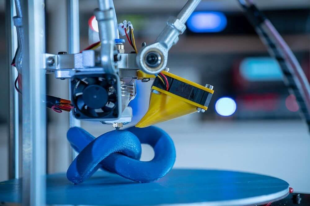 Aufwendige Struktur aus dem 3D-Drucker