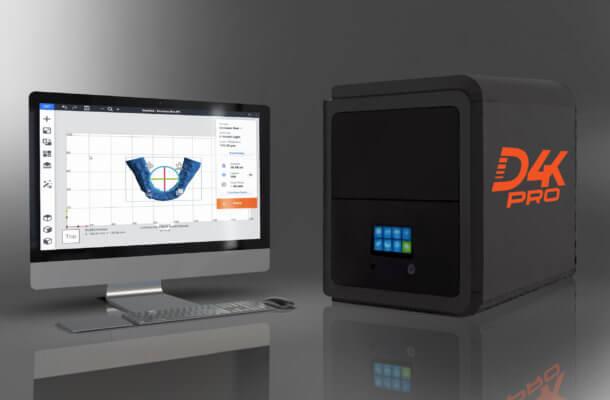 D4K Pro Dental von EnvisionTec und Software