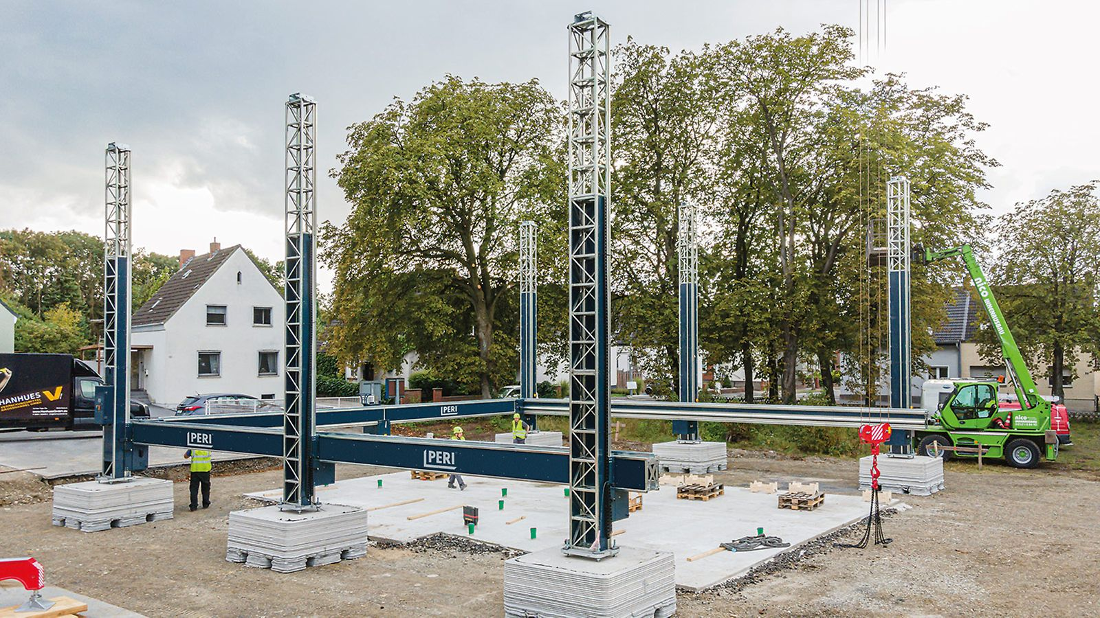 Baustelle PERI GmbH in NRW