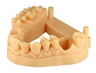 Objekt mit 3D-Druckmaterial E-Denstone gedruckt