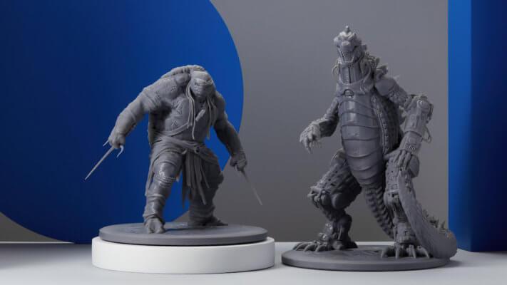 3D-Druckbeispiele Form 3L