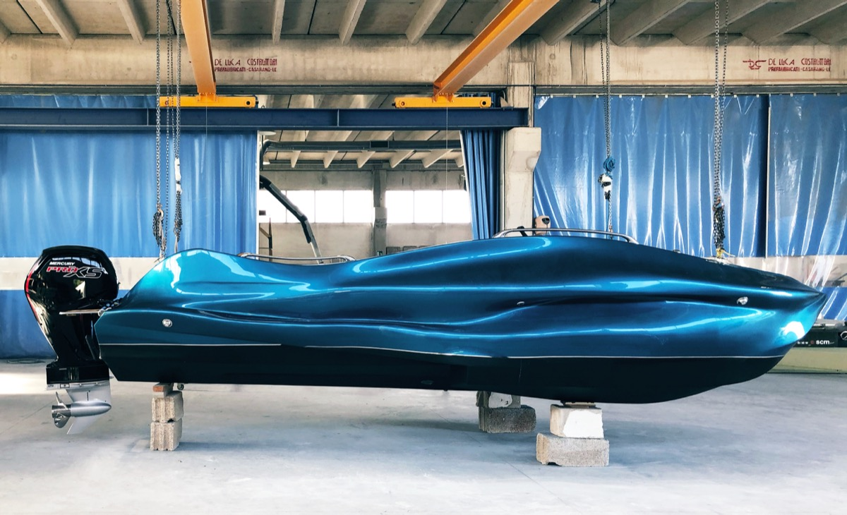 MAMBO 3D-gedrucktes Trimaran (Boot)