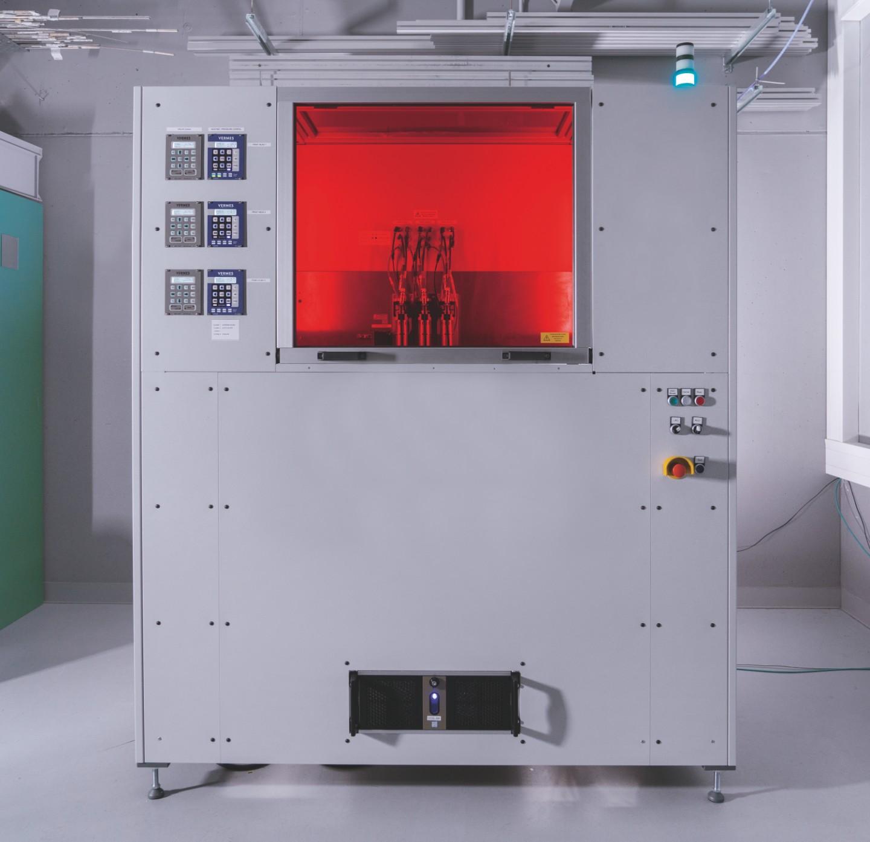 MMJ-Anlage vom Fraunhofer IKTS
