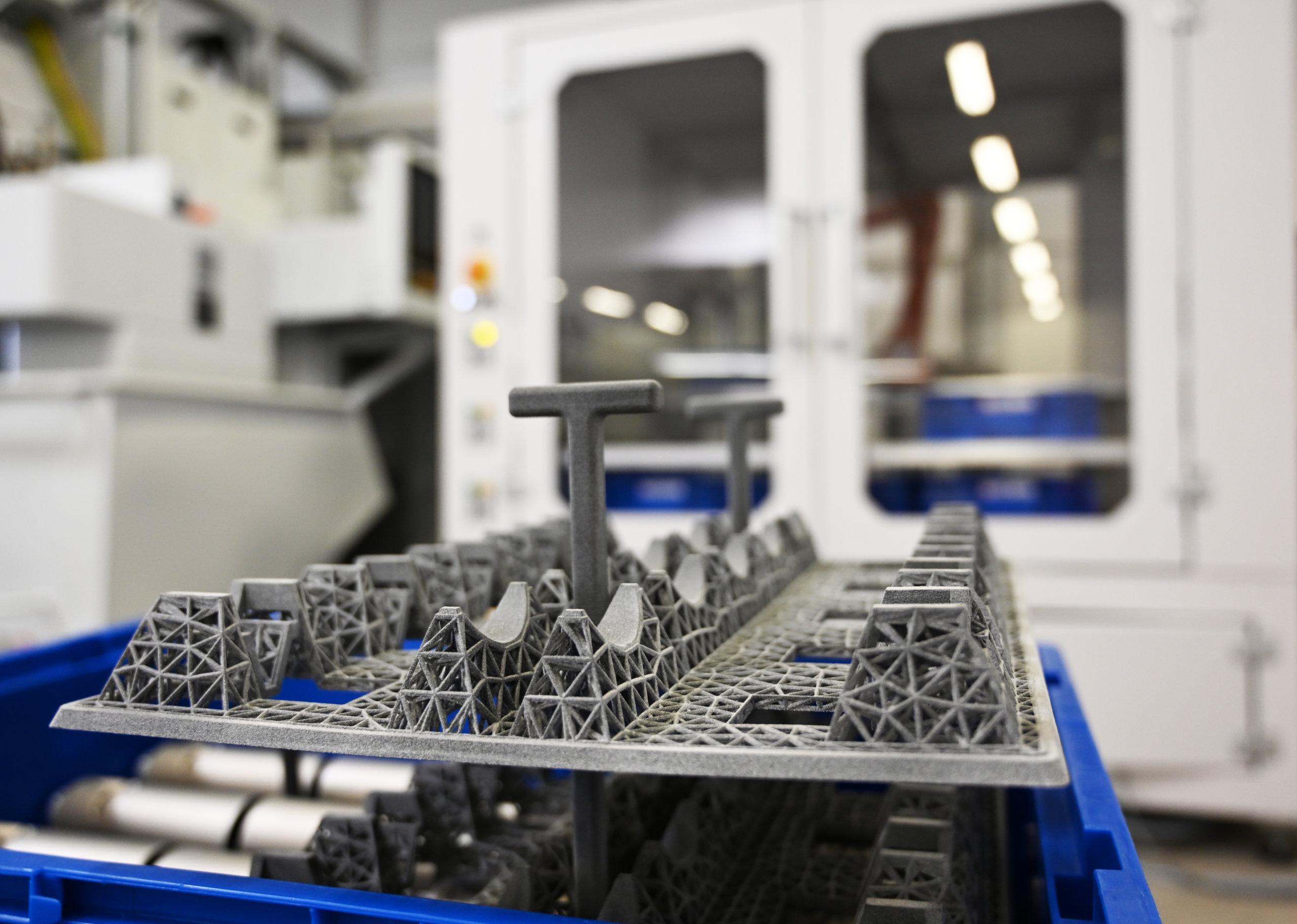 3D-gedruckte Werkstückträger