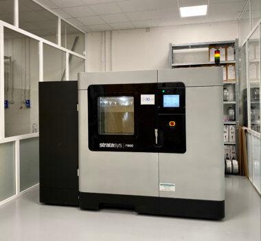 3D-Drucker F900 von Stratasys bei 3DnA