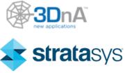 3DnA und Stratasys Logo