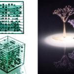 BitArt 3D-gedrucktes Kunstwerk aus Erinnerungen