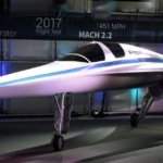 XB-1 Überschallflugzeug mit 3D-gedruckten Teilen