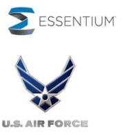 Essentium und U.S. Air Force Logos