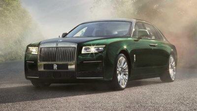 Rolls-Royce Ghost Extended Produktfoto