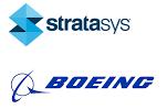 Boeing Stratasys Logos