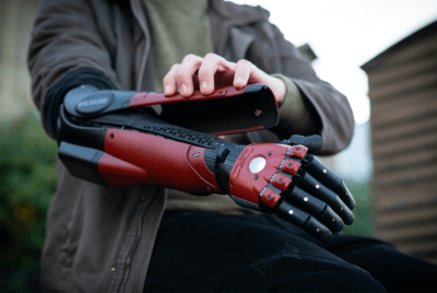 Open Bionics Hero Arm Prothese an Daniel Melville