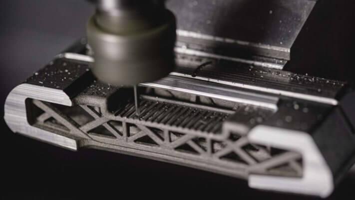 3D-gedruckter Putter in CNC-Ansicht
